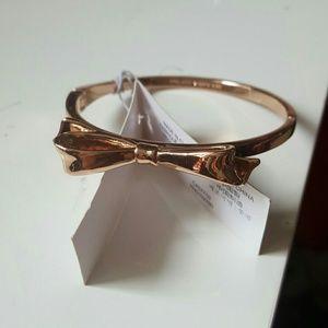 Kate spade rosegold bracelet
